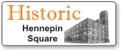 Historic Hennepin Square Minneapolis Minnesota