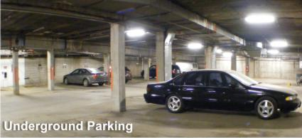 Hennepin Square heated underground parking professional office space in Minneapolis Minnesota